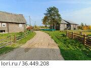 Деревня Кукшегоры. Республика Карелия (2020 год). Стоковое фото, фотограф Дмитрий Шишков / Фотобанк Лори