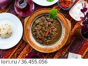 Turkish lamb meat saute mutancana. Стоковое фото, фотограф Яков Филимонов / Фотобанк Лори
