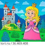 Princess topic image 3 - picture illustration. Стоковое фото, фотограф Zoonar.com/Klara Viskova / easy Fotostock / Фотобанк Лори