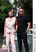 Roberta Giarrusso, Riccardo Di Pasquale at the 78th Venice Film festival... Редакционное фото, фотограф Maria Laura Antonelli / AGF/Maria Laura Antonelli / age Fotostock / Фотобанк Лори