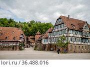 Monastery in Maulbronn Germany in June 03 2014. Стоковое фото, фотограф Zoonar.com/Nailia Schwarz / age Fotostock / Фотобанк Лори