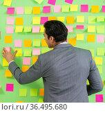 Businessman with many business priorities. Стоковое фото, фотограф Elnur / Фотобанк Лори