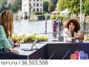 Entrepreneur & President of Bonfiglioli Group Sonia Bonfiglioli during... Редакционное фото, фотограф Nicola Marfisi / AGF/Nicola Marfisi / AGF / age Fotostock / Фотобанк Лори