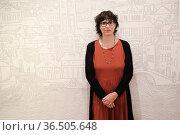 Daniela Gambaro winner of the Opera Prim Prize of Campiello Literature... Редакционное фото, фотограф Toniolo / AGF/Mirco Toniolo / age Fotostock / Фотобанк Лори