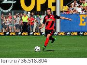 Nicolas Höfler (Freiburg), Fussball: Testspiel - SC Freiburg vs. ... Стоковое фото, фотограф Zoonar.com/Joachim Hahne / age Fotostock / Фотобанк Лори