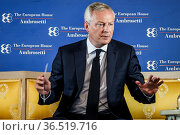 Minister of Economy, Finance and Recovery of France, Bruno Le Maire... Редакционное фото, фотограф Nicola Marfisi / AGF/Nicola Marfisi / AGF / age Fotostock / Фотобанк Лори