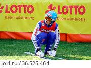 Junioren-Weltmeister David Siegel (SV Baiersbronn) in der Qualifikation... Стоковое фото, фотограф Zoonar.com/Joachim Hahne / age Fotostock / Фотобанк Лори