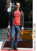 Elio Germano arrives at the Darsena of Hotel Excelsior for the 78th... Редакционное фото, фотограф Maria Laura Antonelli / AGF/Maria Laura Antonelli / age Fotostock / Фотобанк Лори
