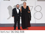 Giancarlo Martini during 'Freaks Out' red carpet during the 78th ... Редакционное фото, фотограф AGF/Maria Laura Antonelli / age Fotostock / Фотобанк Лори