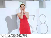 Cristiana Capotondi during 'Freaks Out' red carpet during the 78th... Редакционное фото, фотограф AGF/Maria Laura Antonelli / age Fotostock / Фотобанк Лори