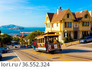 San Francisco, USA - May 12, 2016: Combined scenic view of San Francisco... Стоковое фото, фотограф Zoonar.com/Pius Lee / age Fotostock / Фотобанк Лори