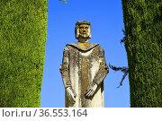 Gardens of the Alcazar de Los Reyes Cristiano, Unesco World Heritage... Стоковое фото, фотограф Frederic Soreau / age Fotostock / Фотобанк Лори