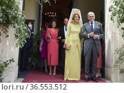 Enriqueta Fernandez, Pedro Martin, Santiago Benjumea Maestre, Countess... Редакционное фото, фотограф ©MANUEL CEDRON / age Fotostock / Фотобанк Лори