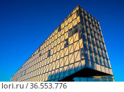 JTI Gebäude, Sitz von Japan Tobacco International, JTI, Architekturbüro... Стоковое фото, фотограф Zoonar.com/Georg / age Fotostock / Фотобанк Лори