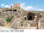 UPLISZICHE, GEORGIA - JULY 7, 2014: Caves of the world heritage Uplisziche... Стоковое фото, фотограф Zoonar.com/Alexander Ludwig / age Fotostock / Фотобанк Лори