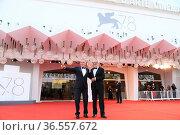 Roberto Cicutto , Alberto Barbera during closing Ceremony Red Carpet... Редакционное фото, фотограф Bildbyran via ZUMA Press/Maria Laura Antonelli / age Fotostock / Фотобанк Лори