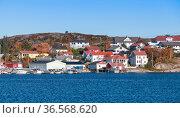 Kristiansund, coastal Norwegian town view (2016 год). Стоковое фото, фотограф EugeneSergeev / Фотобанк Лори