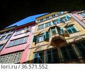 Bolzano, Bozen, Dolomites, Alpine mountain region, South Tirol, Alto... Стоковое фото, фотограф Angelo Calvino / age Fotostock / Фотобанк Лори