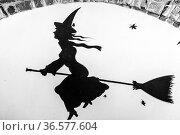 In Triora, dem Bergdorf der Hexen im ligurischen Hinterland erinnert... Стоковое фото, фотограф Zoonar.com/Hans Eder / easy Fotostock / Фотобанк Лори
