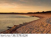 Küste der Indel Fårö, Schweden, im Licht des anbrechenden Morgens... Стоковое фото, фотограф Zoonar.com/Kai Schirmer / easy Fotostock / Фотобанк Лори