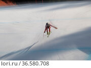 Christoph Gruber, Österreich, FIS Ski Weltcup Abfahrt der Herren, ... Стоковое фото, фотограф Zoonar.com/Günter Lenz / age Fotostock / Фотобанк Лори