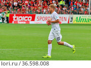Simon Terodde (Bochum) - 2. Bundesliga: 3. Sptg.: SC Freiburg - VFL... Стоковое фото, фотограф Zoonar.com/Joachim Hahne / age Fotostock / Фотобанк Лори