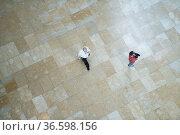 Guggenheim Museum in Bilbao, Blick ins Foyer, 30.5.2015, Foto: Robert... Стоковое фото, фотограф Zoonar.com/Robert B. Fishman / age Fotostock / Фотобанк Лори