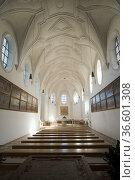 Kloster Scheyern-Benediktinerabtei zum Hl. Kreuz, Scheyern, Bayern... Стоковое фото, фотограф Zoonar.com/Günter Lenz / age Fotostock / Фотобанк Лори