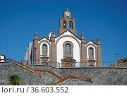 Kirche, Santa Lucía de Tirajana, santa lucia, kanaren,kanarische inseln... Стоковое фото, фотограф Zoonar.com/Volker Rauch / easy Fotostock / Фотобанк Лори