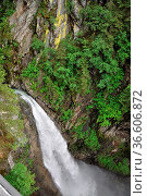Unterer Sulzbachfall, Sulzbachfall, untersulzbachfall, wasserfall... Стоковое фото, фотограф Zoonar.com/Volker Rauch / easy Fotostock / Фотобанк Лори