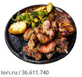 Chuleton is a popular Spanish dish made from a beef steak. Стоковое фото, фотограф Яков Филимонов / Фотобанк Лори