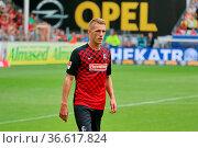 Nils Petersen (Freiburg), 2. Bundesliga: 3. Sptg.: SC Freiburg - ... Стоковое фото, фотограф Zoonar.com/Joachim Hahne / age Fotostock / Фотобанк Лори