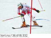 Manfred Pranger, …sterreich, Fis Slalom der Herren, Gudiberg, Gamisch... Стоковое фото, фотограф Zoonar.com/GUENTER LENZ / age Fotostock / Фотобанк Лори