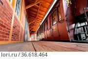 Restaurierter preußischer Abteilwagen der Gattung C 3 aus dem Jahr... Стоковое фото, фотограф Zoonar.com/Karl Heinz Spremberg / age Fotostock / Фотобанк Лори