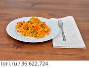 CousCous Gericht - Couscous dish. Стоковое фото, фотограф Zoonar.com/lantapix / easy Fotostock / Фотобанк Лори