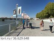 Gedenkstätte für die Abschaffung der Sklaverei in Nantes, Foto: Robert... Стоковое фото, фотограф Zoonar.com/Robert B. Fishman / age Fotostock / Фотобанк Лори