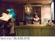 Restaurant Salon des Lumières in Mons serviert im Original-Ambiente... Стоковое фото, фотограф Zoonar.com/Robert B. Fishman / age Fotostock / Фотобанк Лори