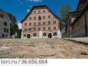 Museum Altes Zeughaus, Solothurn, Kanton Solothurn, Schweiz| Museum... Стоковое фото, фотограф Zoonar.com/Günter Lenz / age Fotostock / Фотобанк Лори