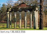 Dessau Georgium Roemische Ruine - Dessau Georgium roman ruin 01. Стоковое фото, фотограф Zoonar.com/LIANEM / easy Fotostock / Фотобанк Лори