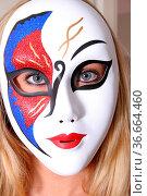 Maske. Стоковое фото, фотограф Zoonar.com/Rüdiger Rebmann / easy Fotostock / Фотобанк Лори