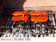 Schweinebauch. Стоковое фото, фотограф Zoonar.com/Rüdiger Rebmann / easy Fotostock / Фотобанк Лори