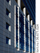 Hochhaus, Frankfurt, wolkenkratzer, fassade, hausfassade, gebäude... Стоковое фото, фотограф Zoonar.com/Volker Rauch / easy Fotostock / Фотобанк Лори