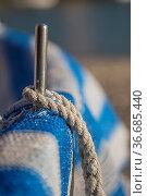 Fishing boat on the Baia del Silenzio in Sestri Levante, Liguria. Стоковое фото, фотограф Zoonar.com/LOTTI FABIO / easy Fotostock / Фотобанк Лори