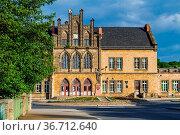 Impressionen aus der welterbestadt Quedlinburg Bahnhof. Стоковое фото, фотограф Zoonar.com/Daniel Kühne / easy Fotostock / Фотобанк Лори