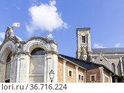 Eglise Saint-Pierre, Talmont St Hilaire, Pays de Loire, Vendée, France... Стоковое фото, фотограф Alain Kubacsi / age Fotostock / Фотобанк Лори