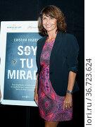 Cristina Higueras presents her new novel, Soy tu 'Mirada' in Madrid... Редакционное фото, фотограф Oscar Gonzalez / WENN / age Fotostock / Фотобанк Лори