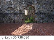 """Wetter Castle, Wetter an der Ruhr, Ruhr Area, North Rhine-Westphalia, Germany"" Редакционное фото, агентство Caro Photoagency / Фотобанк Лори"