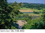 """Gethmanns Garden, Blankenstein, Hattingen, Ruhr Area, North Rhine-Westphalia, Germany"" Редакционное фото, агентство Caro Photoagency / Фотобанк Лори"