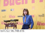 Almudena Amor attends 'El Buen Patron (The Good Boss) Premiere at... Редакционное фото, фотограф ©MANUEL CEDRON / age Fotostock / Фотобанк Лори