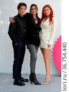 Benjamin Mascolo, director Elisa Amoruso and Bella Thorne attend ... Редакционное фото, фотограф KIKA / WENN / age Fotostock / Фотобанк Лори